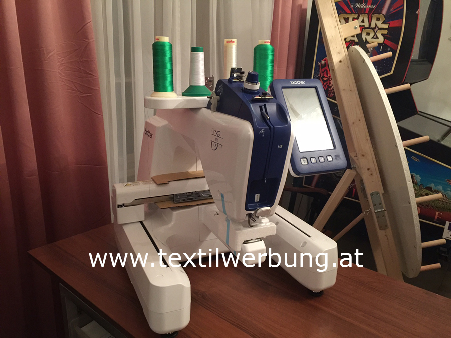 Stickmaschine mieten in Wien
