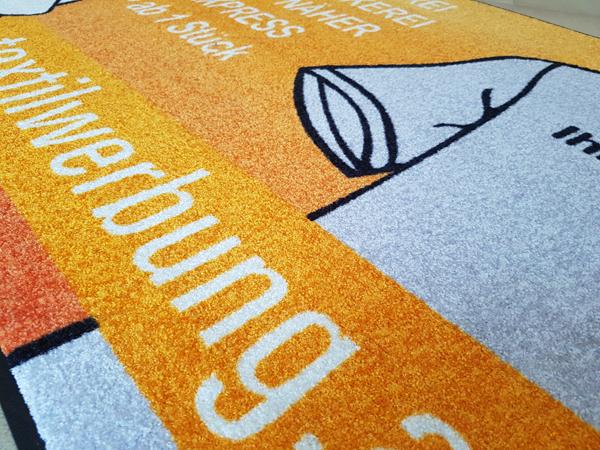 Teppiche mit Firmenlogo bedrucken Wien  Druck auf Teppich